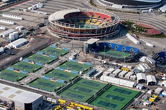 Tennis at the 2016 Summer Olympics - Olympic Tennis Centre, in Barra Olympic Park