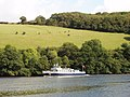 River boat on the Dart at Sharpham - geograph.org.uk - 956075.jpg