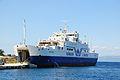 Ro-ro passenger Ship Nikolaos - IMO 8611506 - Ionion Lines - Gaios, Paxos - Greece - 18 May 2012.jpg