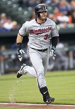 Robbie Grossman - Grossman with the Minnesota Twins