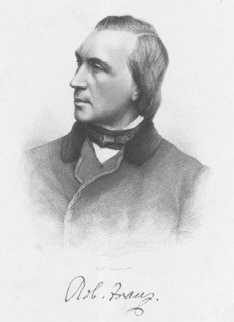 Robert Franz - Robert Franz