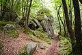Rochers granitique des Gorges du Corong.JPG