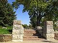 Rock Garden Entrance--northwest corner of Harman Park.JPG