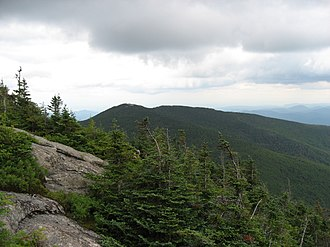 Rocky Peak Ridge - Rocky Peak seen from Giant Mountain