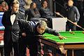 Rod Lawler and Thorsten Müller at Snooker German Masters (Martin Rulsch) 2014-01-30 01.jpg