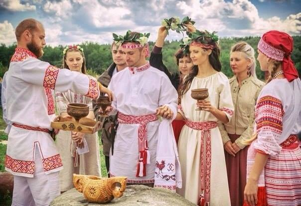 Rodnover wedding in Russia