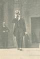 Rodrigues Gaspar sai do Parlamento após a última sessão do período legislativo, 1926.png