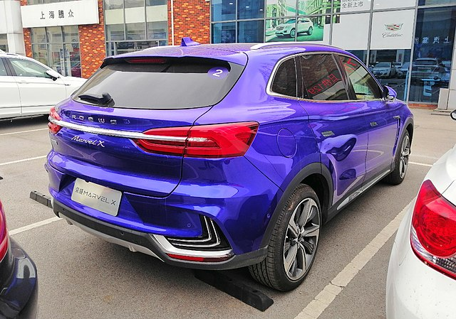 Image of Roewe Marvel X 004 China 2019-04-04