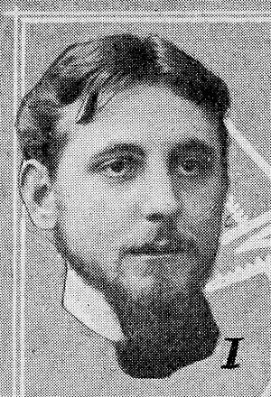 Roger Boucher - Roger Boucher in the Comœdia Illustré magazine in 1910