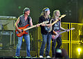 Roger Glover, Uli Jon Roth and Steve Morse at Wacken Open Air 2013.jpg