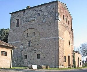 Arch of Malborghetto - The arch or house of Malborghetto