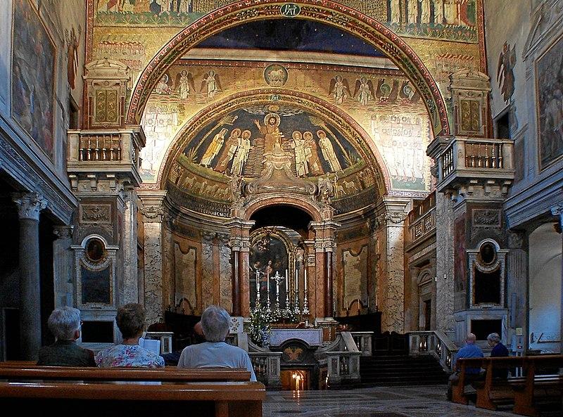 File:Roma Santa Prasede BW 1.JPG
