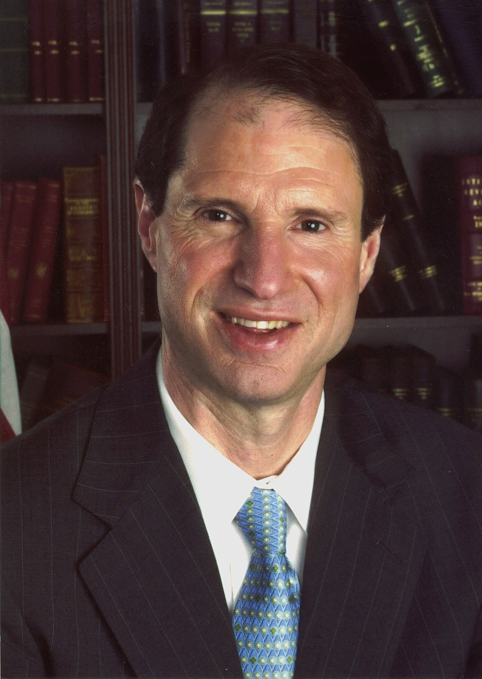 Ron Wyden official portrait