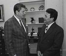 Ronald Reagan and Paul McDonald Calvo.jpg