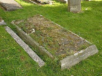 Ronald Ross - Ross's grave at Putney Vale Cemetery, London in 2014
