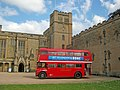 Routemaster bus at Newstead Abbey - geograph.org.uk - 2493460.jpg