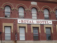 Royal Hotel in New London, CT