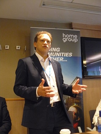 Grant Shapps - Shapps speaking at Conservative Party conference 2011