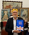 Rt Hon Jeremy Corbyn MP being presented with the British Sikh Report 2018.jpg
