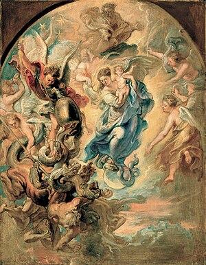 Rubens woman of apocalypse