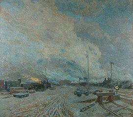 Frachtenbahnhof