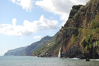 Ponta do Sol, Madeira - The rugged coastline near the parish of Ponta do Sol