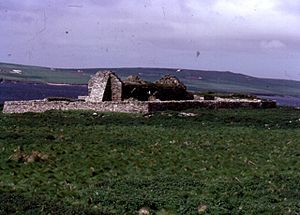 Eynhallow - The ruined chapel on Eynhallow