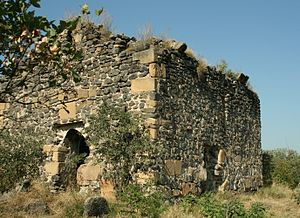 Samshvilde - One of the ruined churches of the Samshvilde complex.