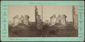 Ruins of Fort Ticonderoga. Ethan Allen Gate, by Stoddard, Seneca Ray, 1844-1917 , 1844-1917.png