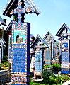 Rumunia, Sapanta, Wesoły Cmentarz(Aw58)5.jpg