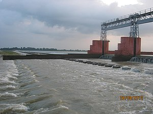 Damodar River - Randihaweir on lower Damodar