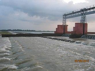 Damodar River - Randihaweir on lower Damodar