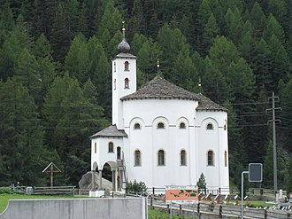 Saas-Balen - Church of Mariä Himmelfahrt