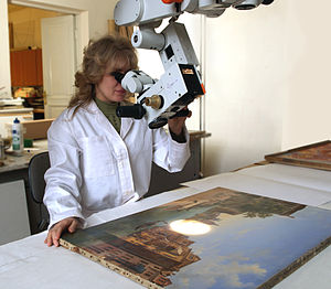 Conservator-restorer - Russian-museum-conservation-department-092
