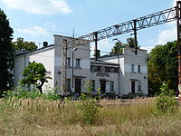 Rydzyna (train station).JPG