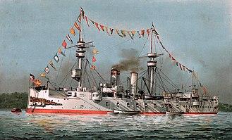 SMS König Wilhelm - König Wilhelm as a training ship