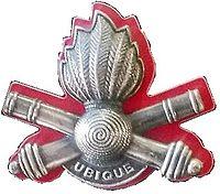 SADF 10 Artillery Brigade beret badge