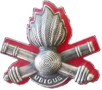 10 Artillery Brigade - Image: SADF 10 Artillery Brigade beret badge