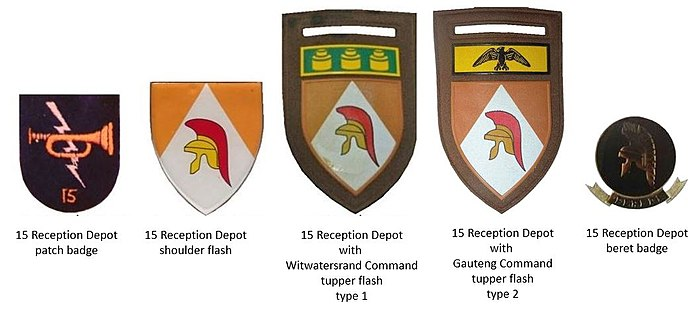 15 Reception Depot insignia