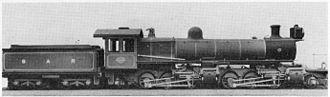 South African Class ME 2-6-6-2 - Class ME no. 1618, c. 1912
