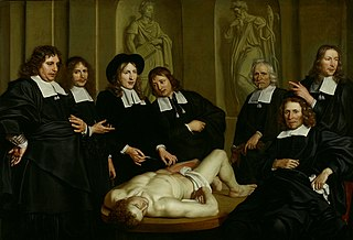 Anatomical lesson from Frederik Ruysch