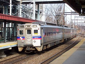 SEPTA Regional Rail - SEPTA Silverliner IV at Fern Rock Transportation Center