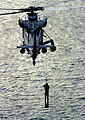SH-2F Seasprite hoists SAR swimmer.jpg