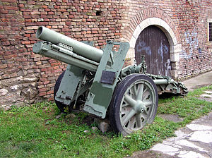 152 mm mortar M1931 (NM) - For the sake of comparison: 15 cm sIG 33.