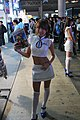 SNK Playmore promotional model at TGS 20081012.jpg