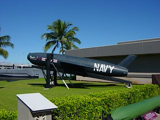 "SSM-N-8 Regulus - SSM-N-8 ""Regulus I"" display at Bowfin Park, Pearl Harbor, Hawaii"