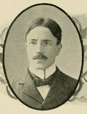 Samuel M. Hammond - Hammond pictured in The Epitome 1899, Lehigh yearbook