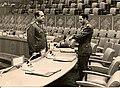 Saad el-Shazly at إجتماع رؤساء الأركان العرب 24-11-71.jpg