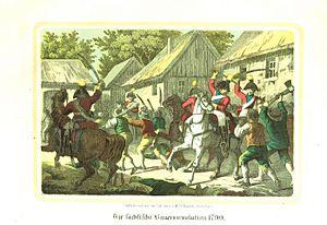 Saxon Peasants' Revolt - The Saxon Peasants' Revolt of 1790