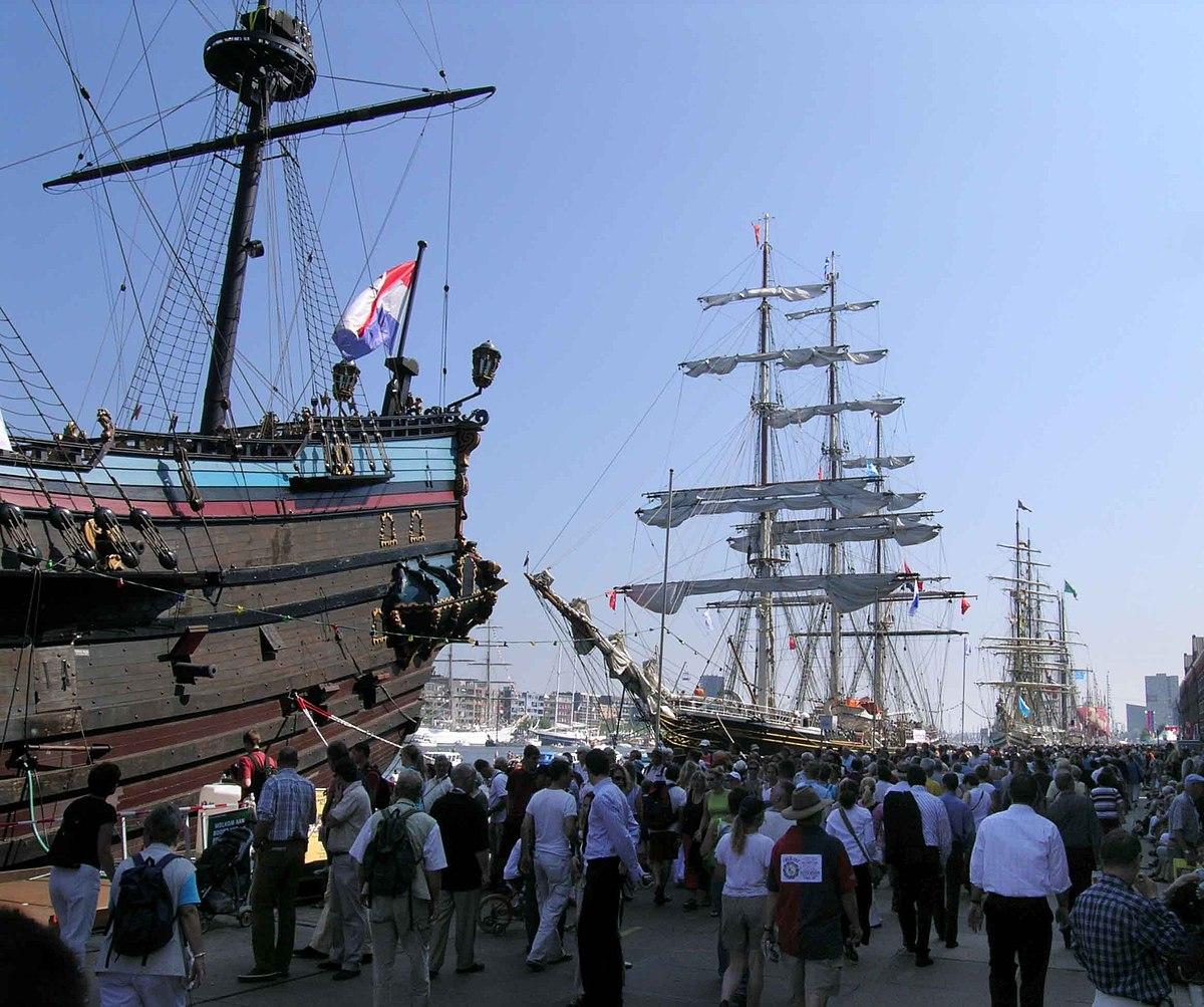 Sail amsterdam wikipedia for B b amsterdam